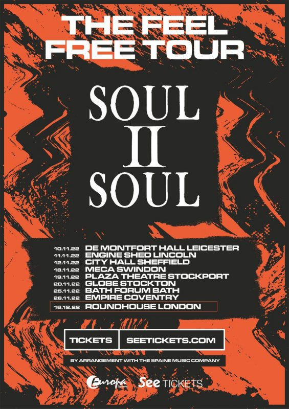 Soul II Soul at The Roundhouse on Fri 16th December 2022 Flyer