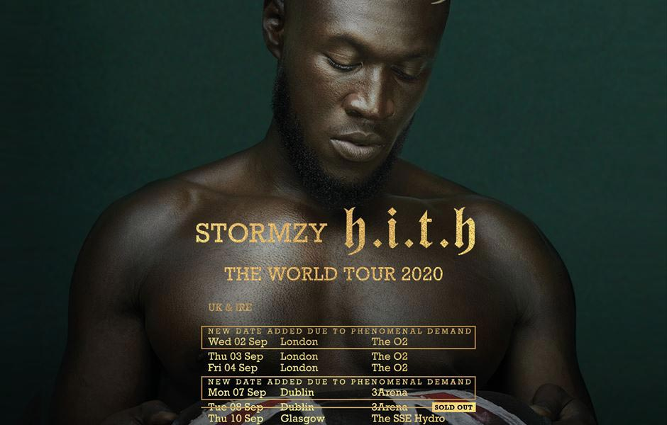 Stormzy at The o2 on Thu 3rd September 2020 Flyer