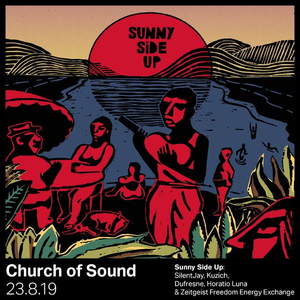 Church Of Sound at Church of Sound on Fri 23rd August 2019 Flyer