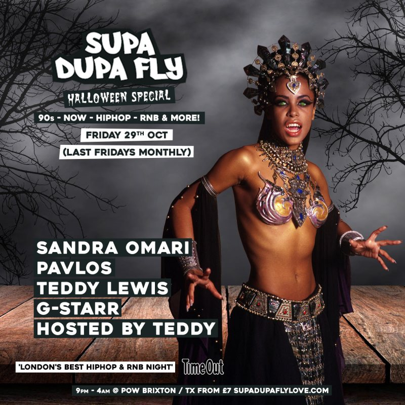 SUPA DUPA FLY Halloween Special at Prince of Wales on Fri 29th October 2021 Flyer