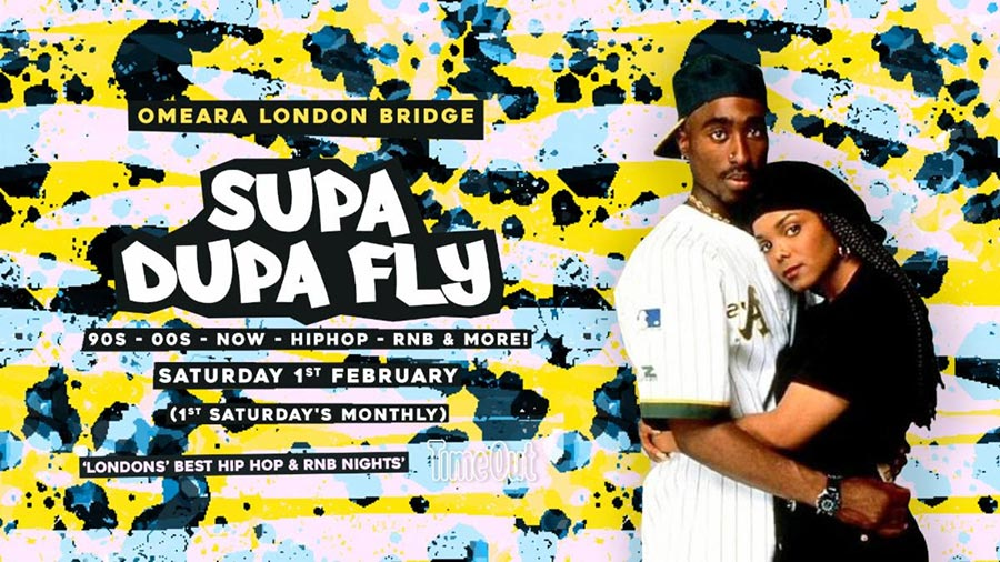 Supa Dupa Fly x Omeara at Omeara on Sat 1st February 2020 Flyer