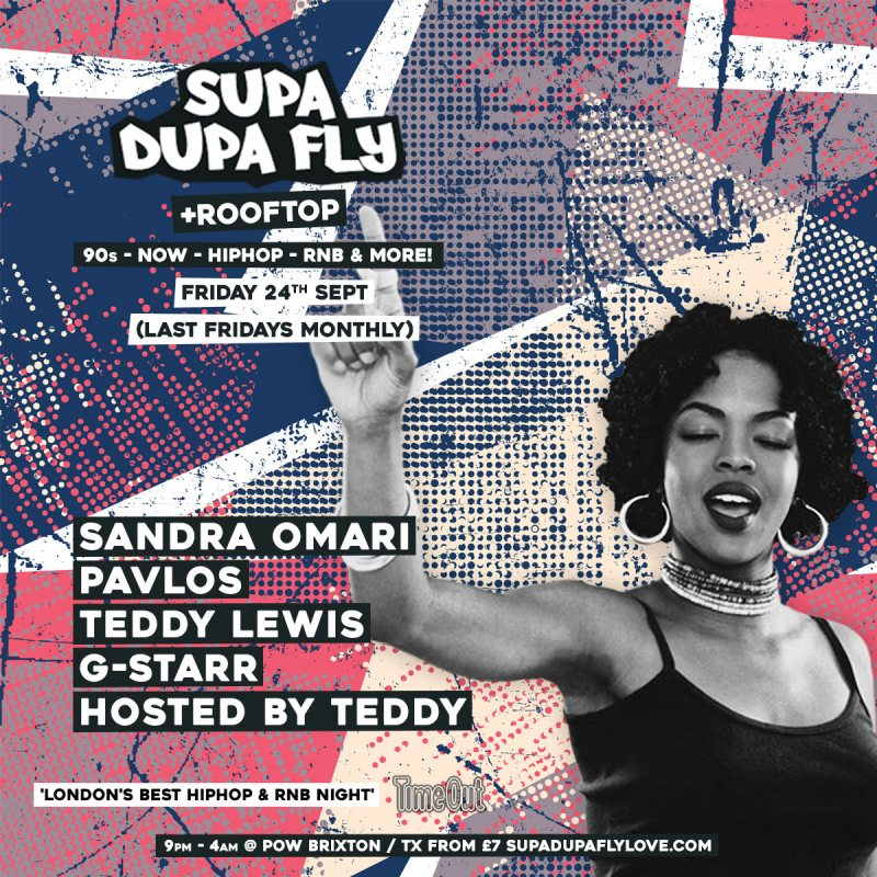 SUPA DUPA FLY + ROOFTOP PARTY at Prince of Wales on Fri 24th September 2021 Flyer