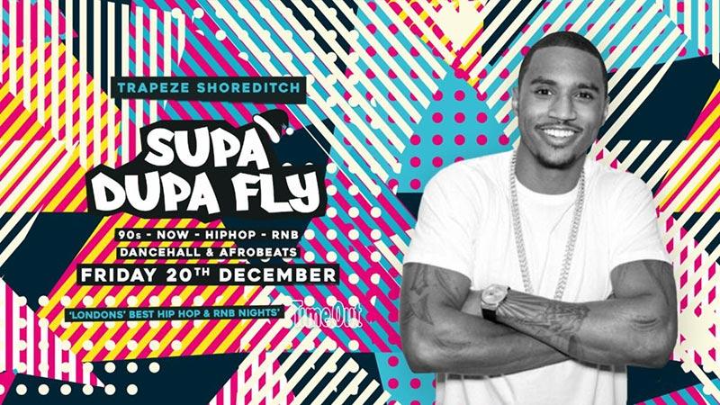 Supa Dupa Fly x Trapeze Basement at Trapeze on Fri 20th December 2019 Flyer