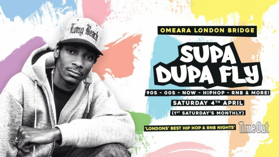 Supa Dupa Fly x Omeara at Omeara on Sat 4th April 2020 Flyer