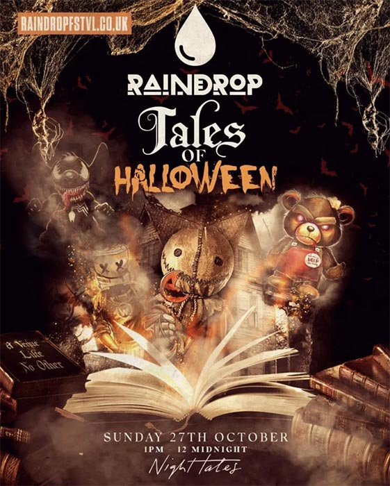 Tales of Halloween at Night Tales on Sun 27th October 2019 Flyer