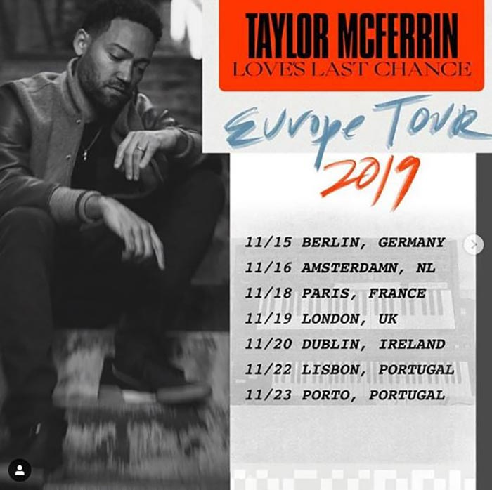 Taylor McFerrin at Oslo Hackney on Tue 19th November 2019 Flyer