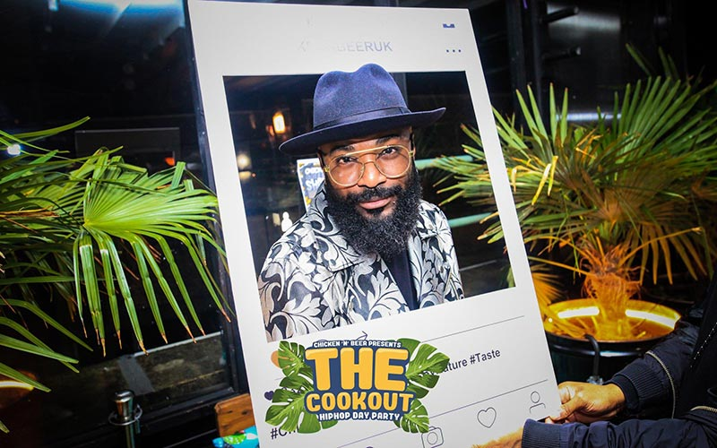 The Cookout x Day Party at PITCH Stratford on Sat 3rd August 2019 Flyer