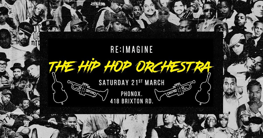 The Hip Hop Orchestra at Phonox on Sat 21st March 2020 Flyer