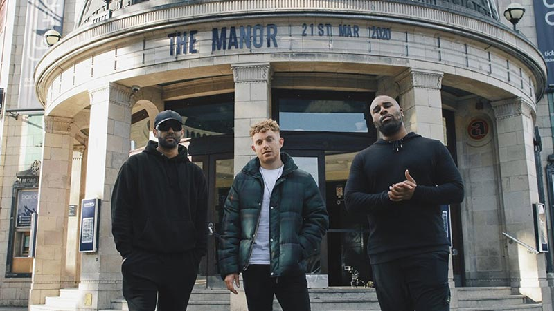 The Manor at Brixton Academy on Sat 21st March 2020 Flyer