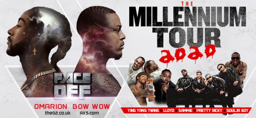 The Millennium Tour 2020 at The o2 on Sat 30th May 2020 Flyer