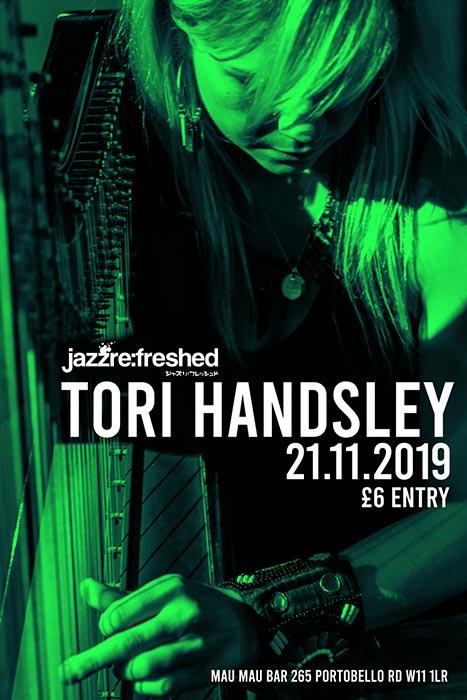 Tori Handsley at Mau Mau Bar on Thu 21st November 2019 Flyer