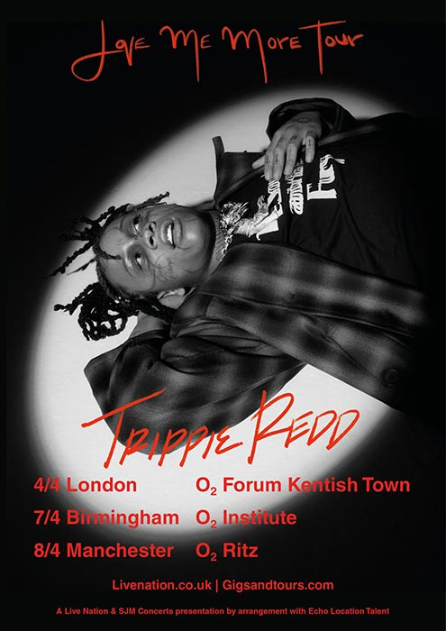 Trippie Redd at The Forum on Sat 4th April 2020 Flyer