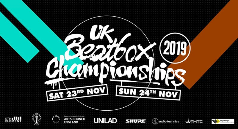 UK Beatbox Championships at Cafe 1001 on Sat 23rd November 2019 Flyer