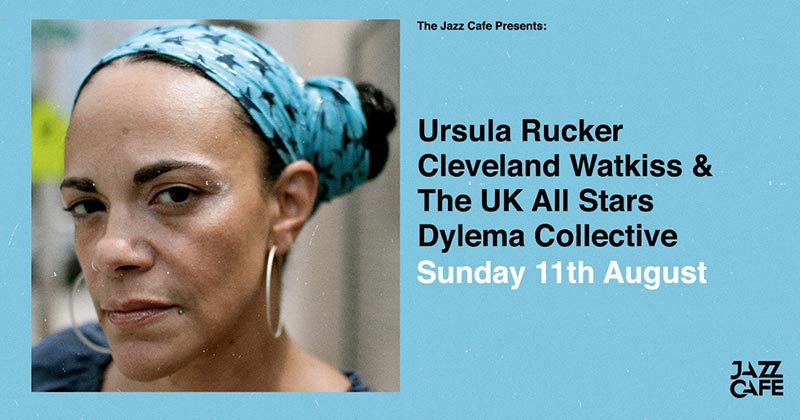 Ursula Rucker at Jazz Cafe on Sun 11th August 2019 Flyer