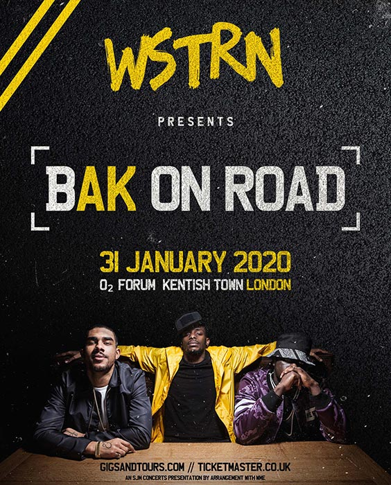 WSTRN at The Forum on Fri 31st January 2020 Flyer