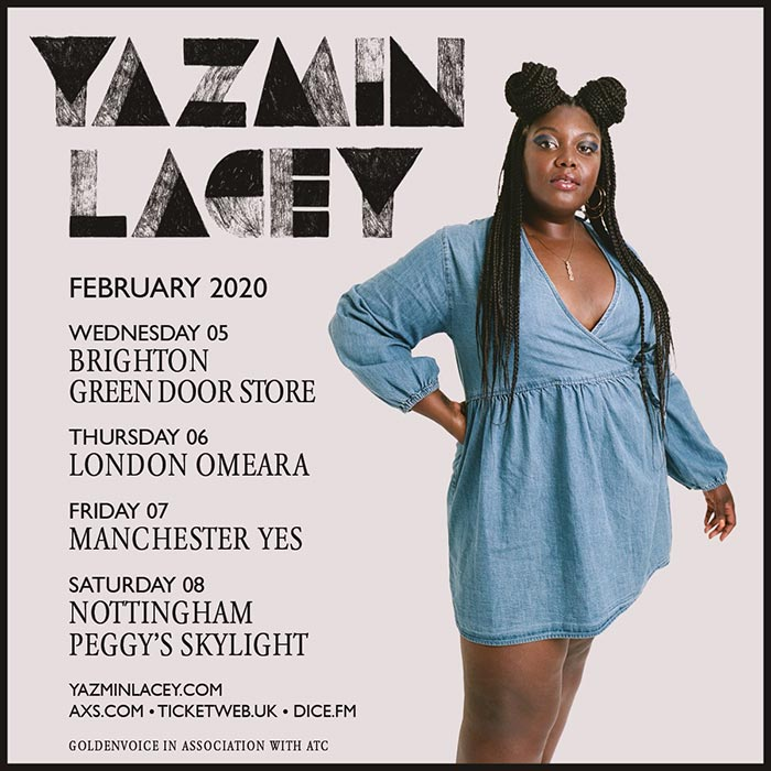 Yazmin Lacey at Omeara on Thu 6th February 2020 Flyer